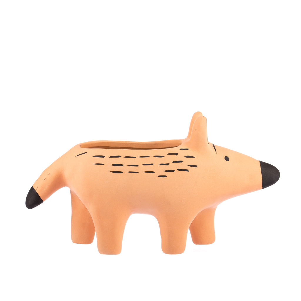Jones & Co // Peachy Dingo Planter Large