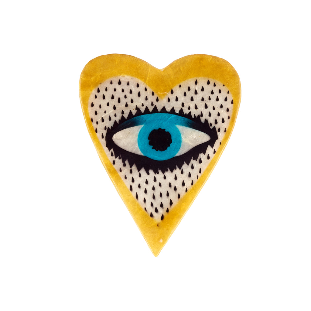 Jones & Co // Heart Eye Yellow