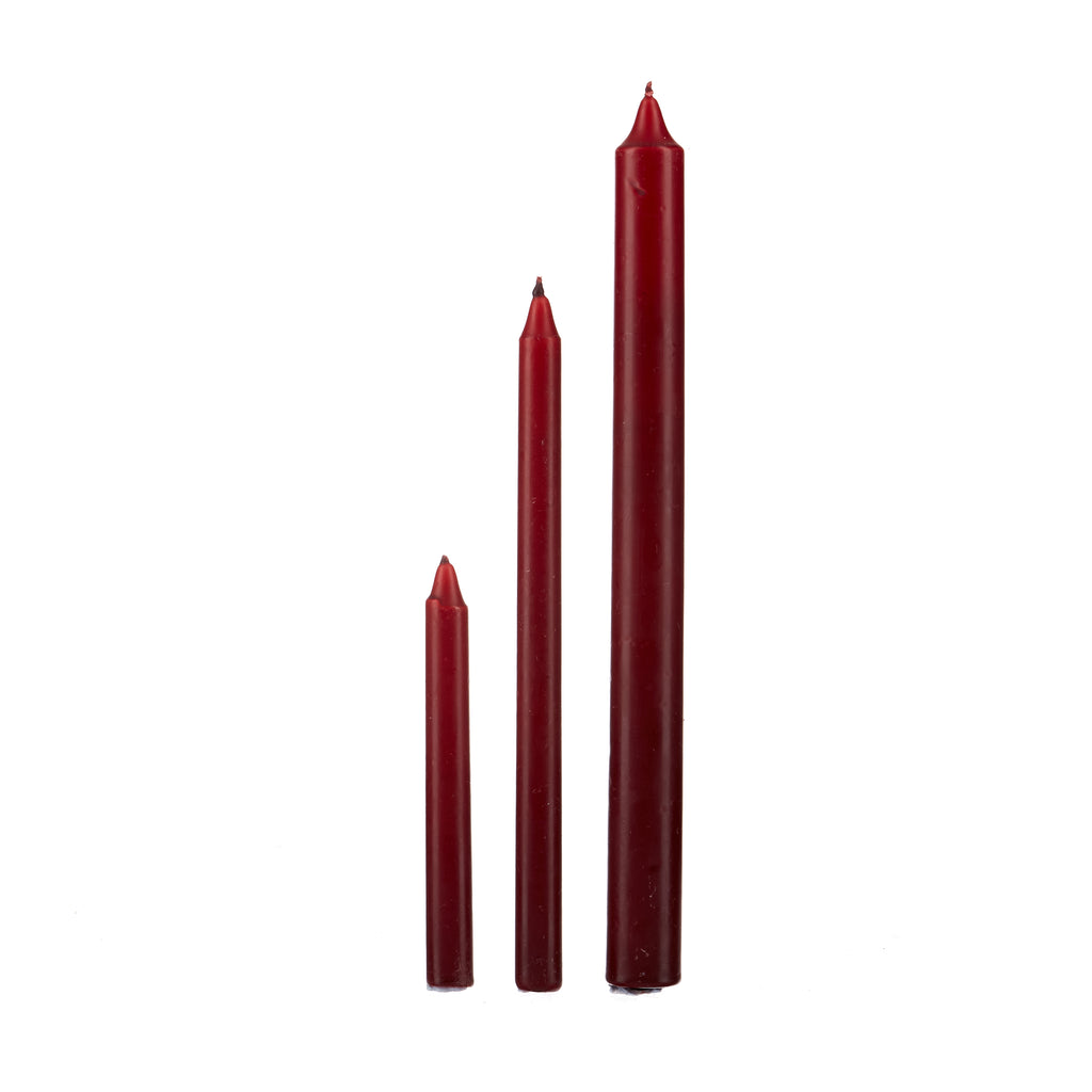 Spell Candle // Burgundy