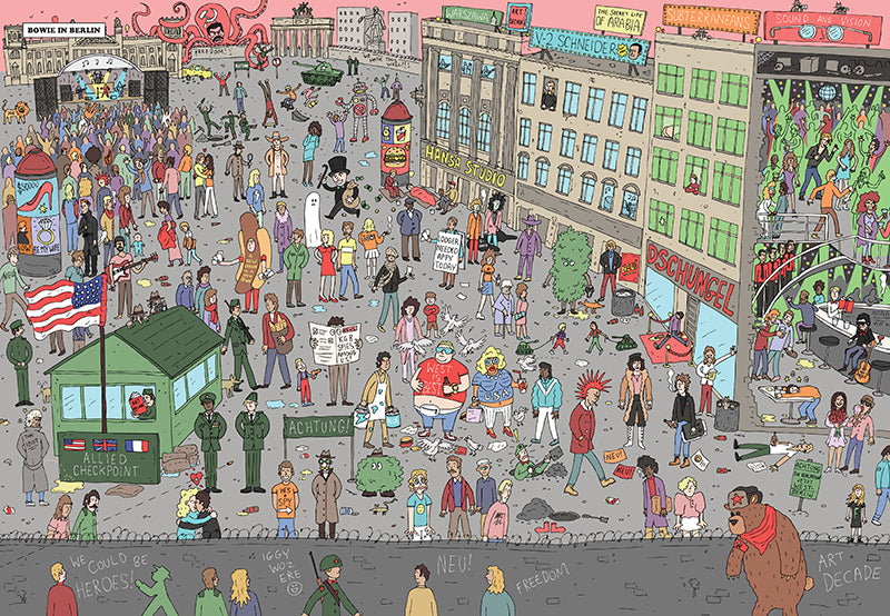 Where's Bowie? // by Kev Gahan