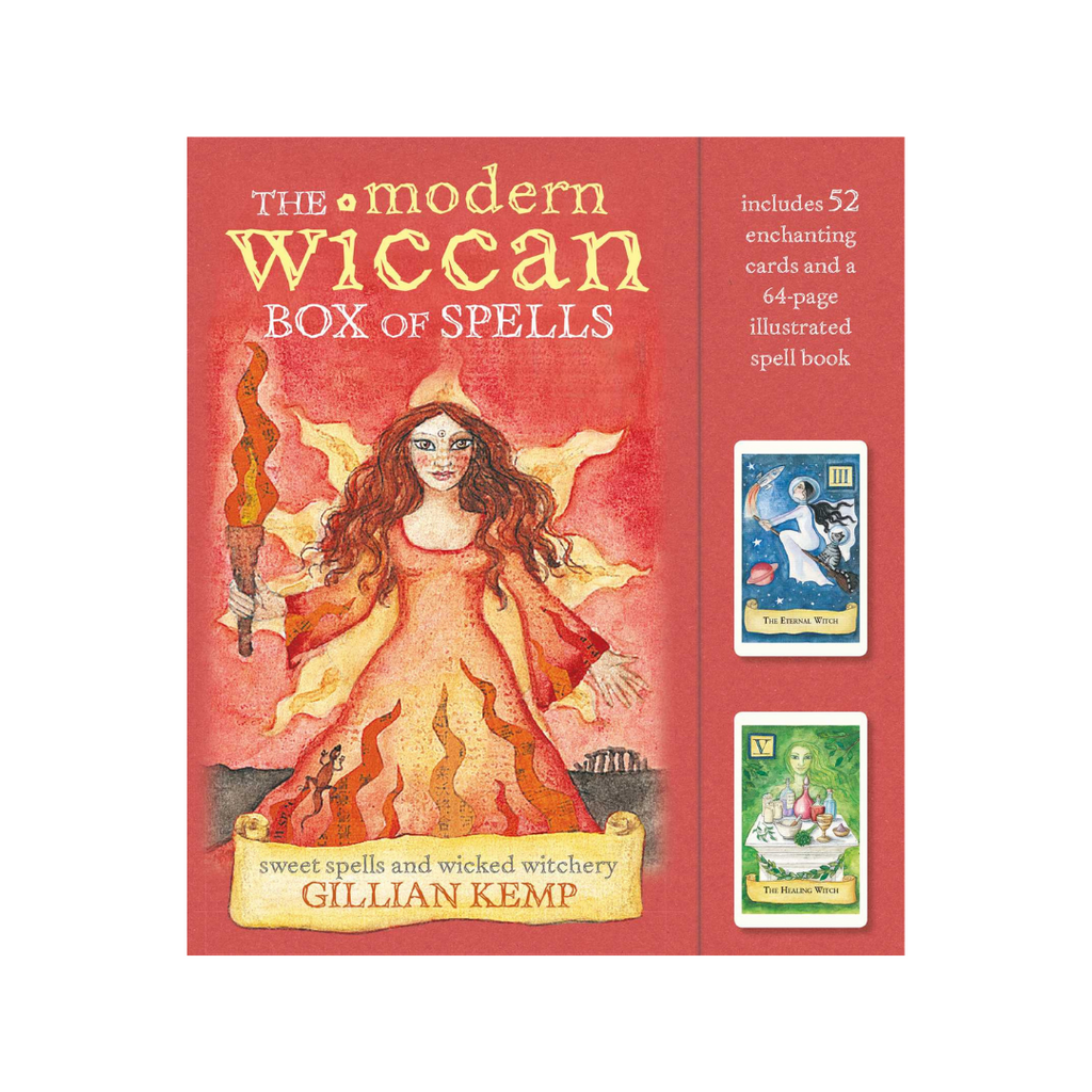 The Modern Wiccan Box of Spells by Gillian Kemp