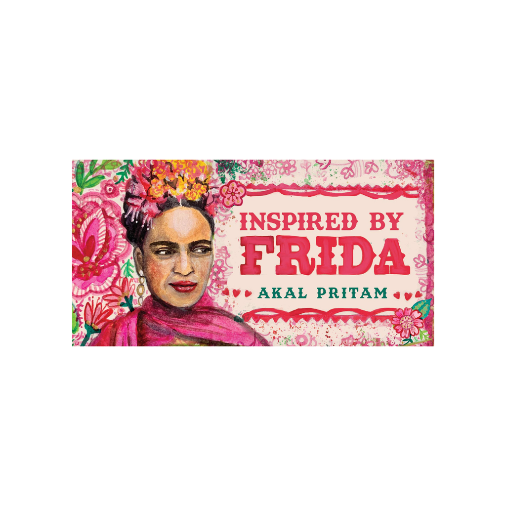 Inspired by Frida: Mini Inspiration Cards by Akal Pritman