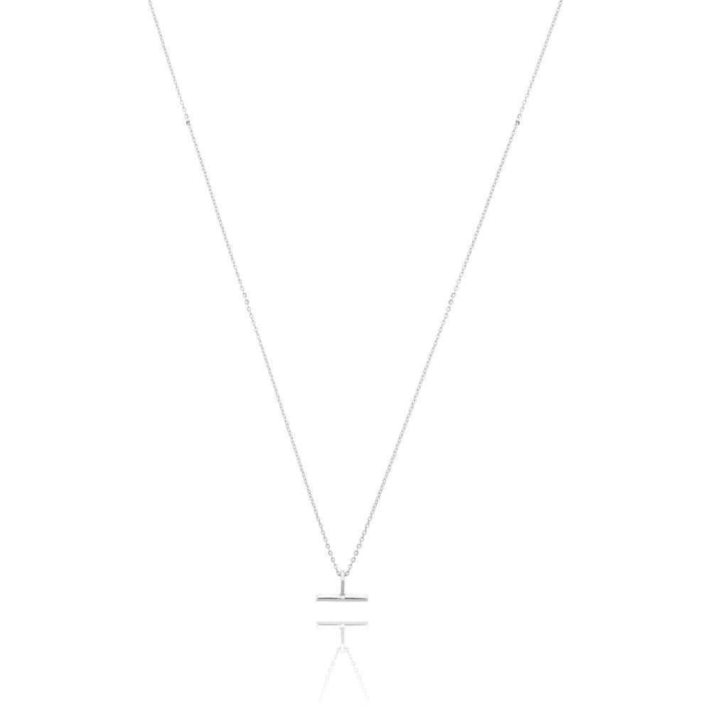 Linda Tahija // Mini T-Bar Necklace - Sterling Silver