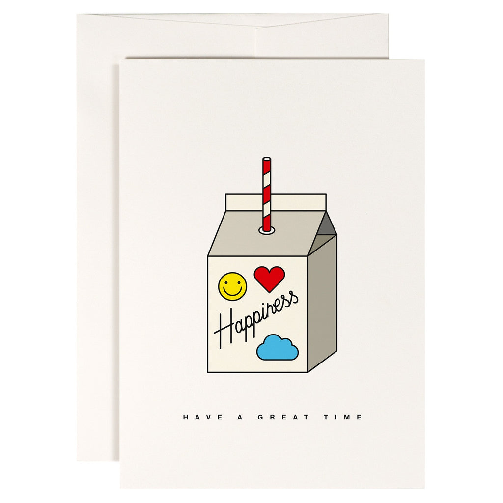 Redfries // Happiness Juice Greeting Card