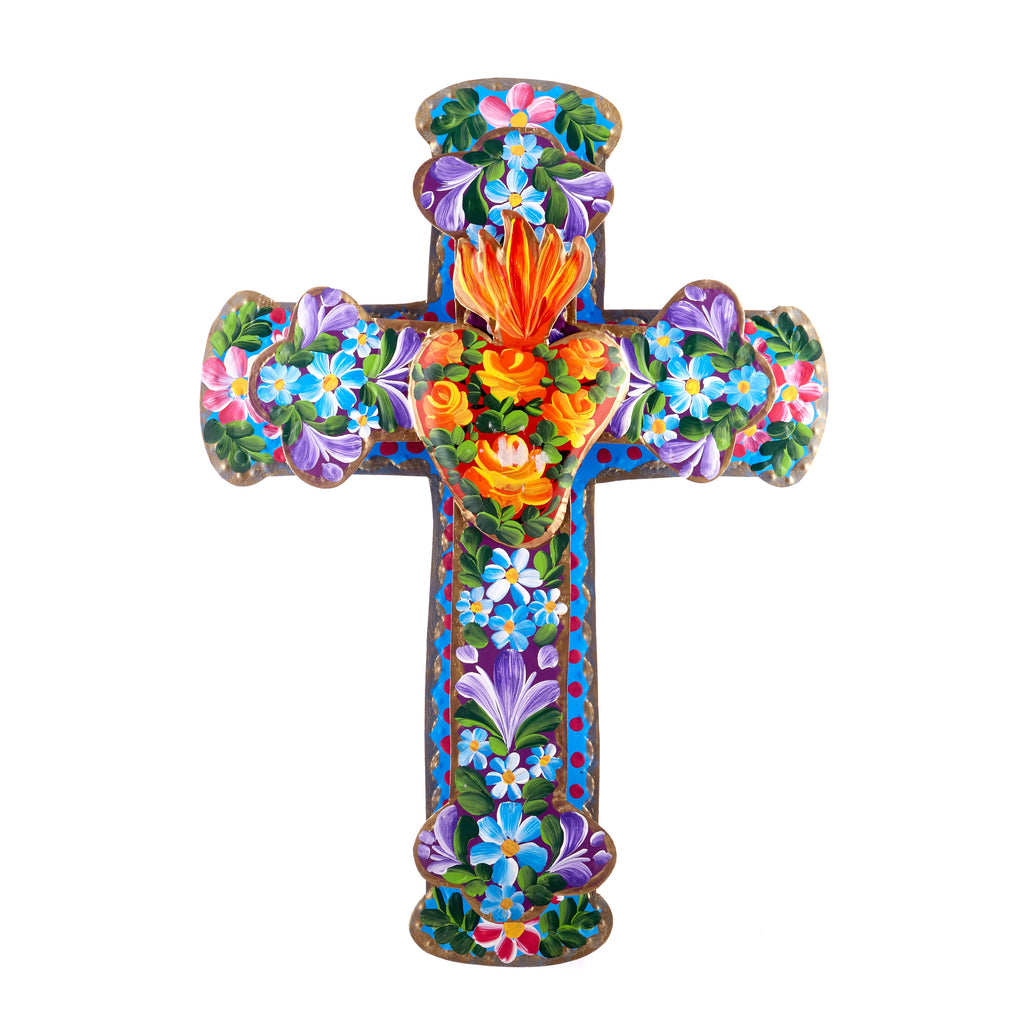 Mexican Handcrafts // Large Hanging Cross