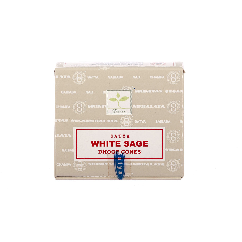 Satya // White Sage Incense Cones