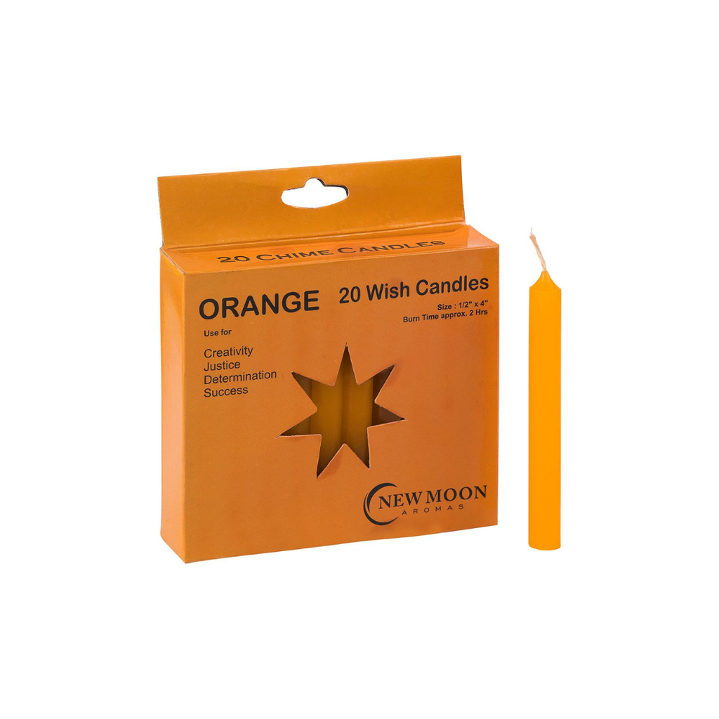 Orange Spell Candles // 20 Pack