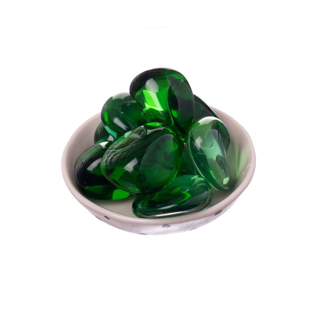 Green Obsidian Tumbled