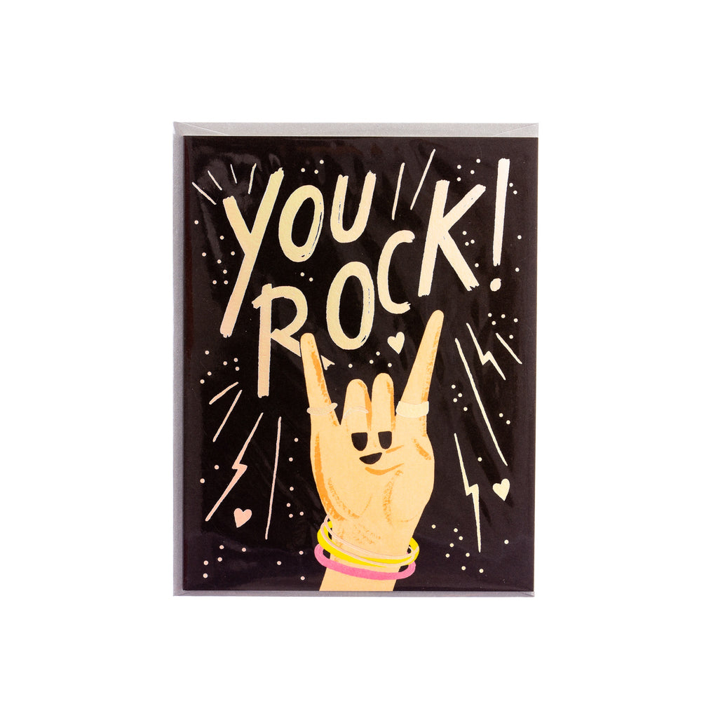 Rifle Paper Co. // You Rock Greeting Card