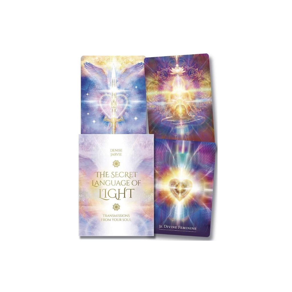 The Secret Language of Light Oracle Cards // Denise Jarvie
