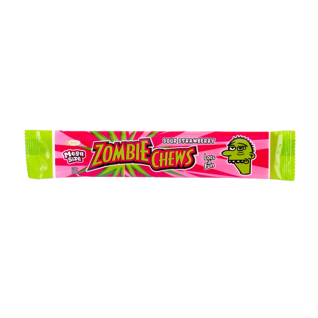 Zombie Chews // Sour Strawberry