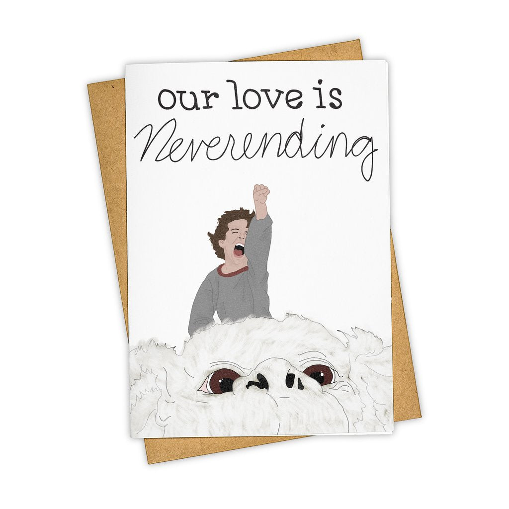 Tay Ham // Our Love Is Neverending Greeting Card