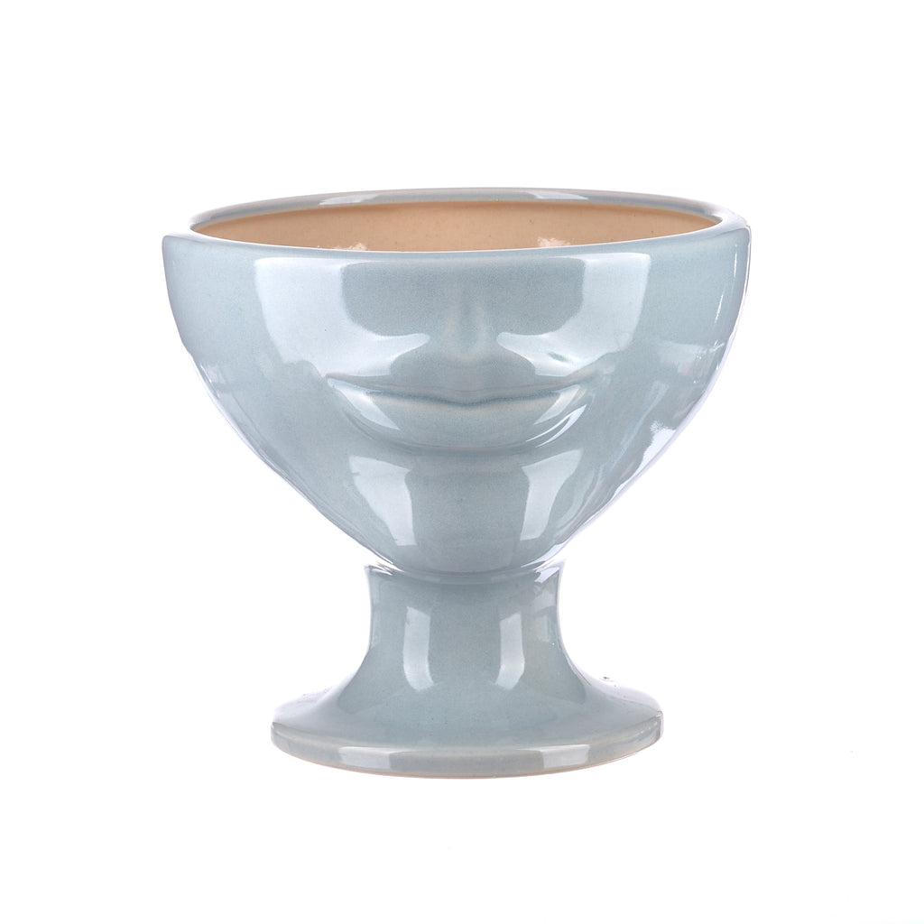 Jones & Co //  Simone Vase - Sky Blue