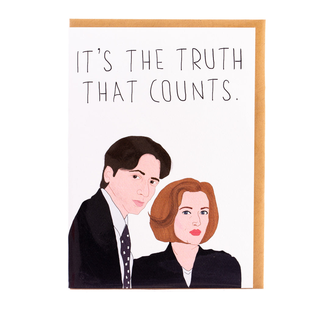 Tayham // It's the Truth that Counts Greeting Card