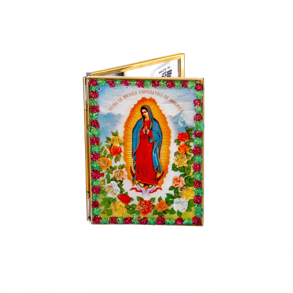 Mexican Handcrafts // Mary Compact Mirror