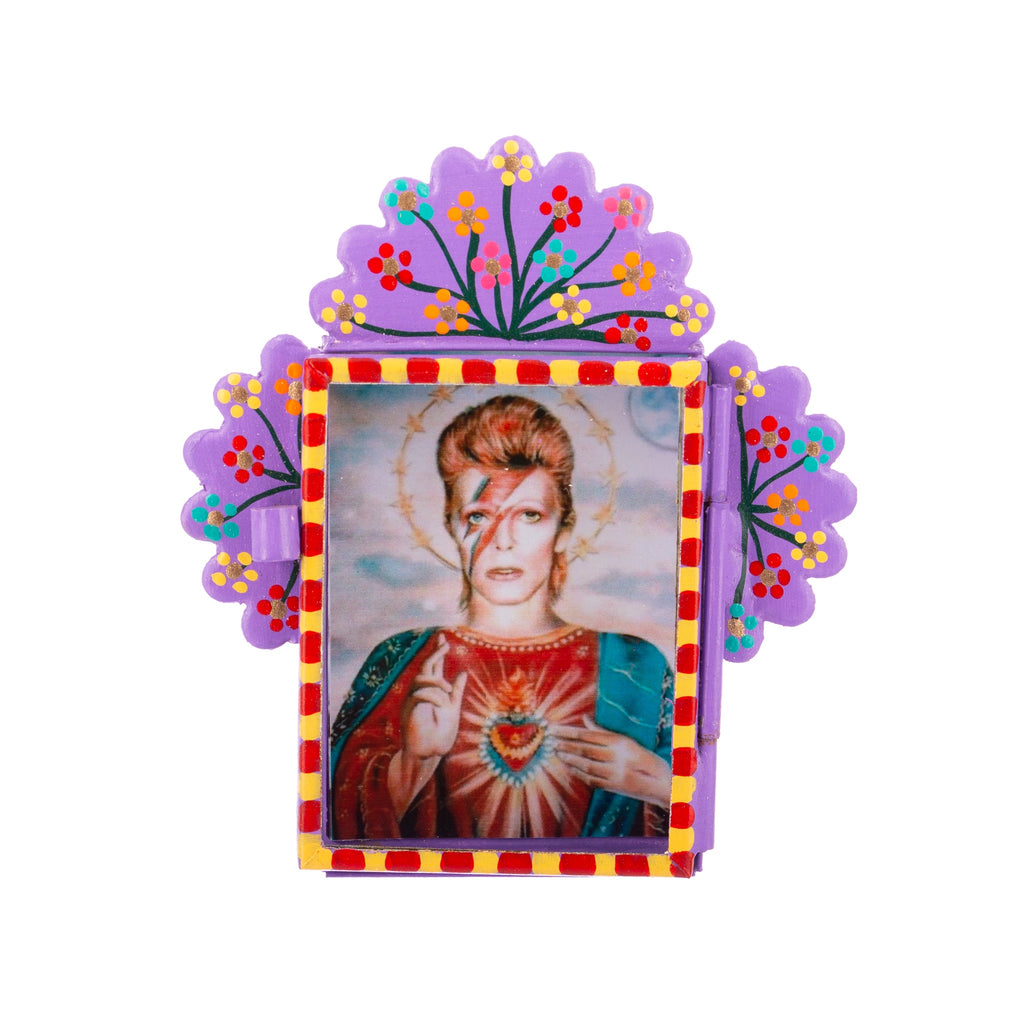 Mexican Handcrafts // David Bowie Ornament / Wall Hanging
