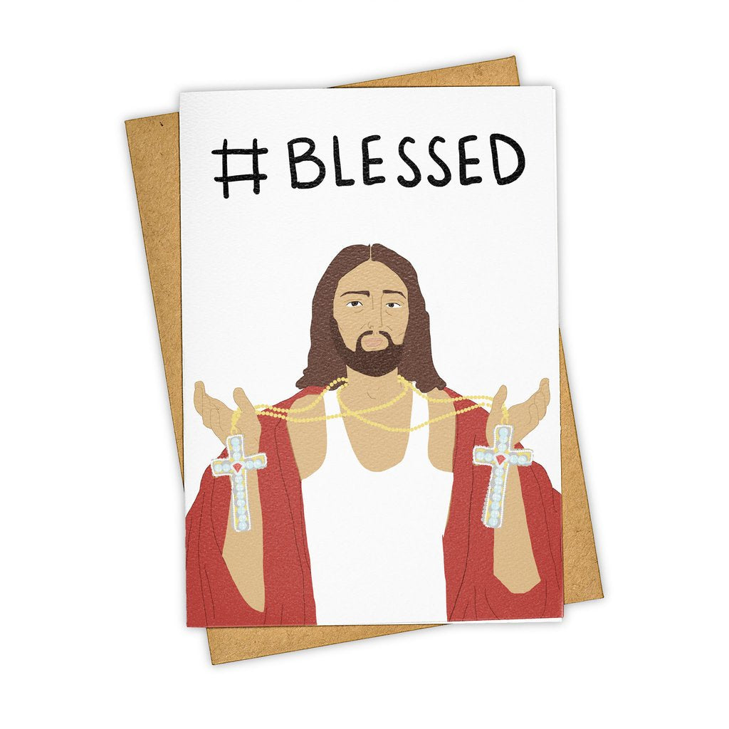 Tay Ham // #Blessed Greeting Card