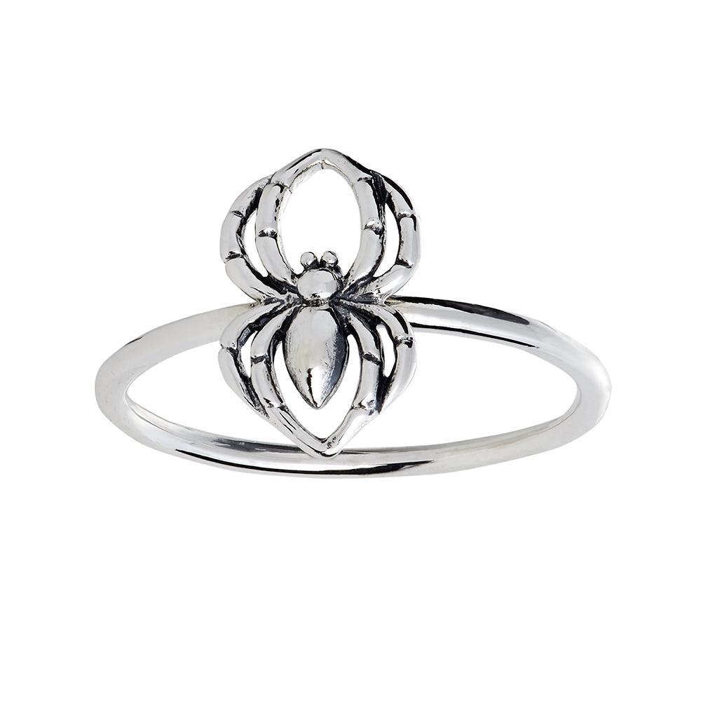 Midsummer Star // Black Widow Spider Ring