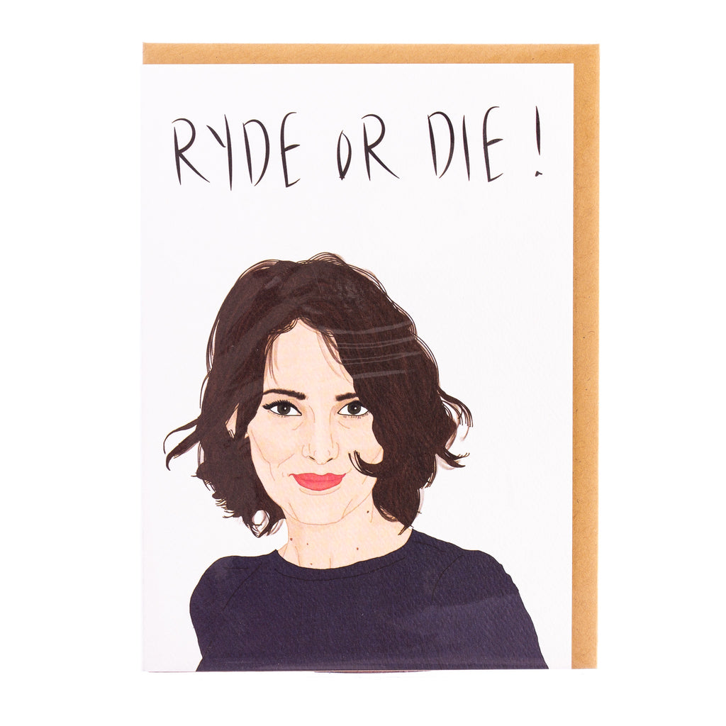 Tayham // Ryde or Die Greeting Card