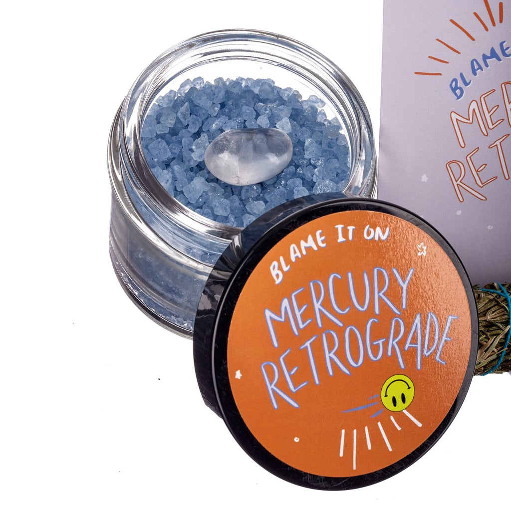 Our Satellite Hearts // Mercury Retrograde Bath Salts