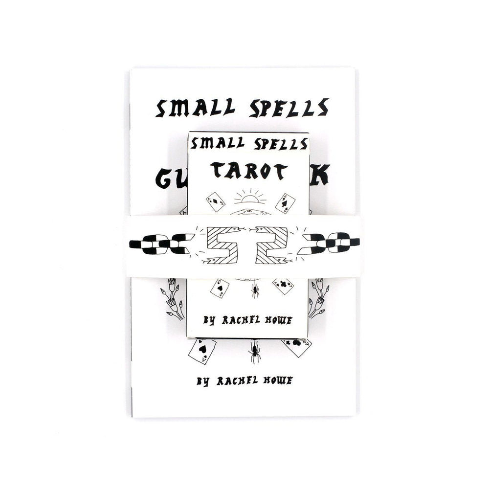Small Spells Tarot with Guidebook Black and White