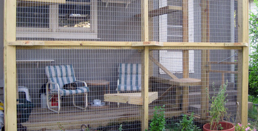 catio outdoor cat enclosure