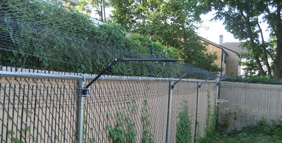 cat enclosure ideas for existing fence