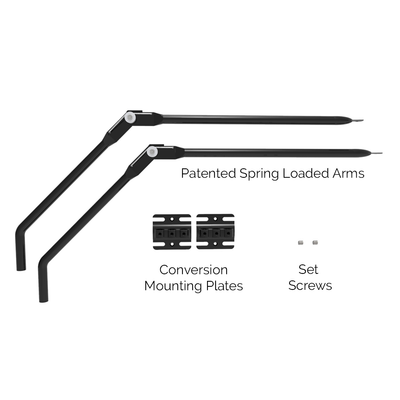 2-Pack Arm Add on to Conversion Fence System