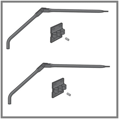 2-Pack of Conversion Fence Arms