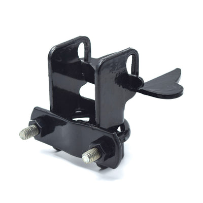 "Black Powder Coated Kennel Latch for 1 3/8"" to 1 3/8"" Tubing"