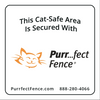 Purrfect Fence Signage