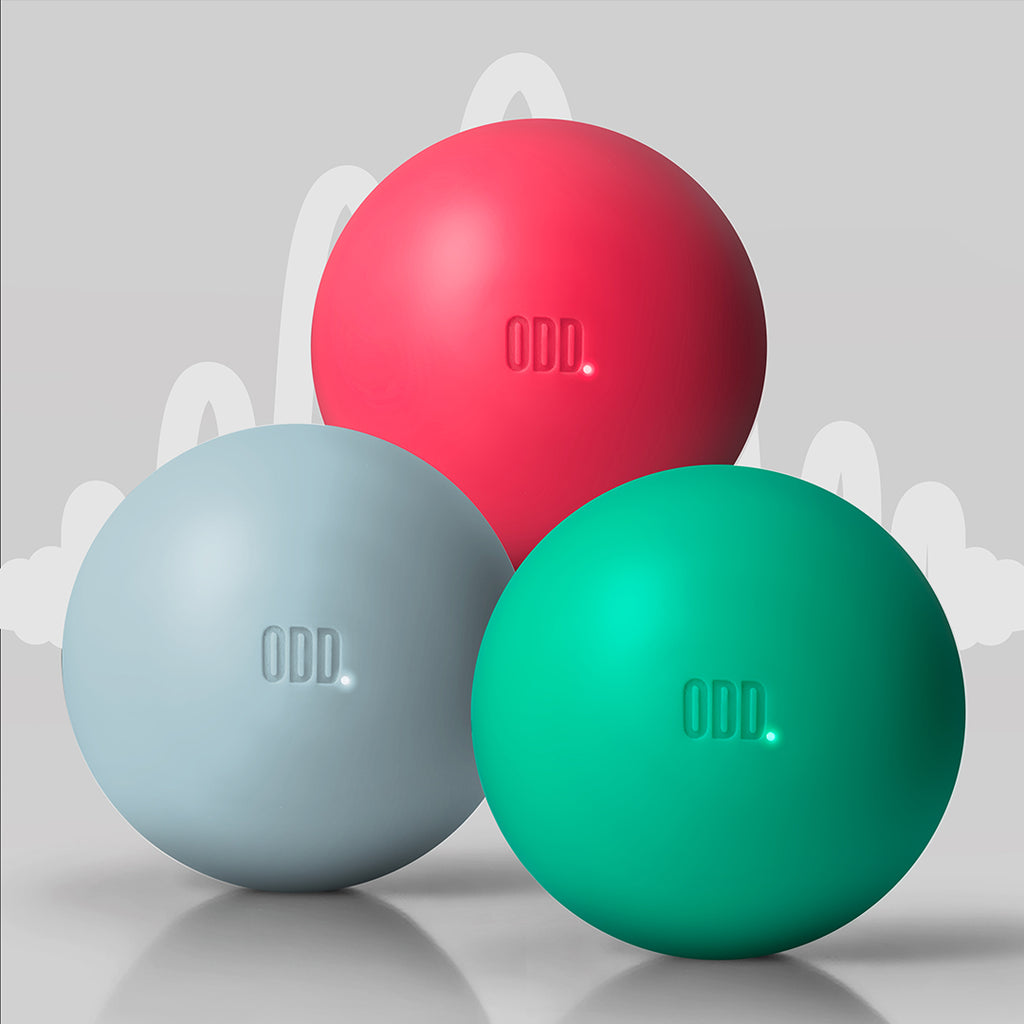 ODD Ball | Gray Punch Turquoise Pack