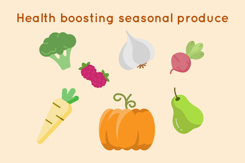 Health Boosting Seasonal Food