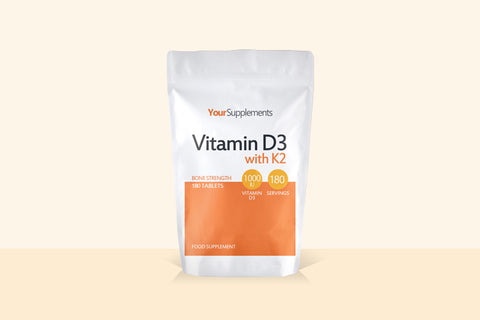 Your guide to Vitamin D3 with K2