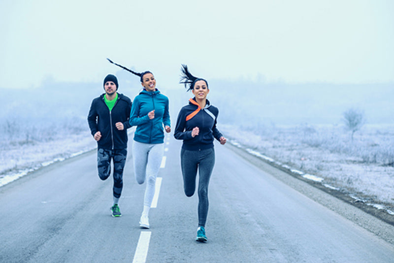 How to warm up your winter running routine