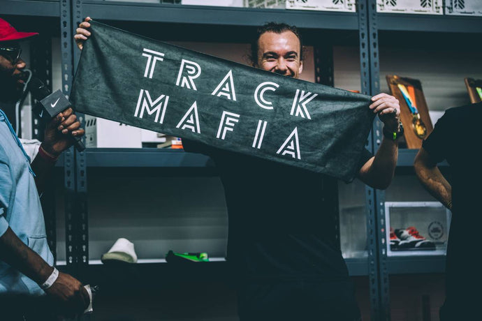 TrackMafia Micro Fibre Race or Rave Towel