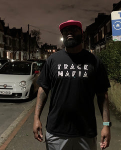 TrackMafia Crew Neck T-Shirt BLACK