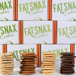 Fat Snax Keto & Low Carb Cookies Four Varieties