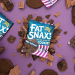 Fat Snax Double Chocolate Chip Cookies