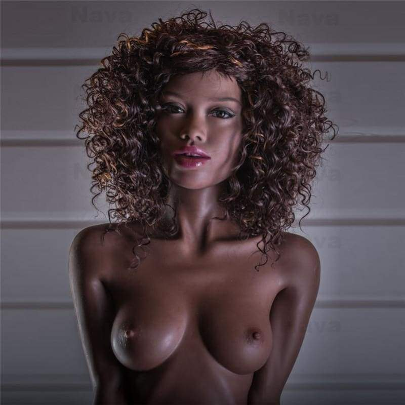 155cm ( 5.08ft ) Flat Breast Black WM Sex Doll DM1 D19051501 Lisa - Best Love Sex Doll
