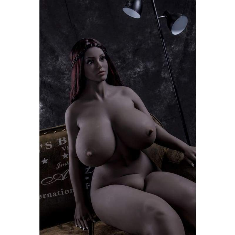 165cm (5.41ft) Big Breast Chubby Big Ass Sex Doll Black F19110804 Elma - Hot Sale