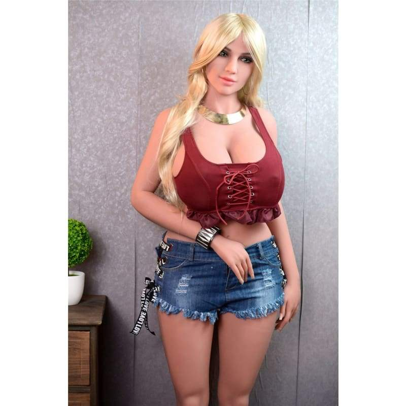 165cm (5.41ft) Big Breast Chubby Big Ass Sex Doll F19110805 Coral - Hot Sale