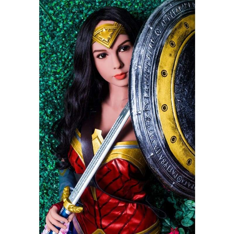 165cm (5.41ft) Small Breast WM Sex Doll Cosplay DM1 DP19121723 Wonder Woman Diana Prince - Hot Sale