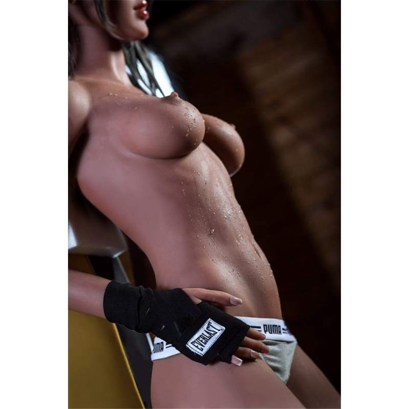 166cm ( 5.45ft ) Small Breast WM Sex Doll Black GYM DM19061117 Jessie - Hot Sale