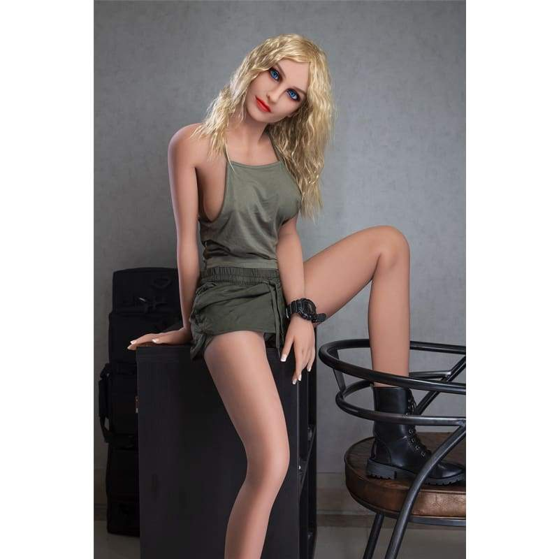 166cm (5.45ft) Small Breast WM Sex Doll Blonde DM19060203 Adalyn - Hot Sale