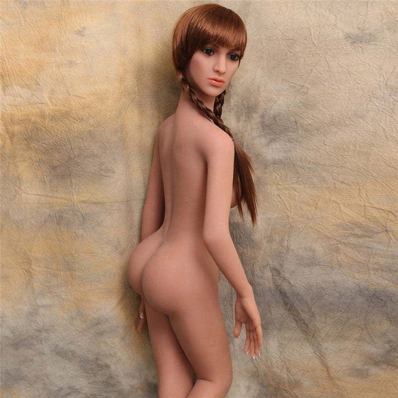 157cm ( 5.15ft ) Small Breast Red Head WM Sex Doll DM19060201 Kalila