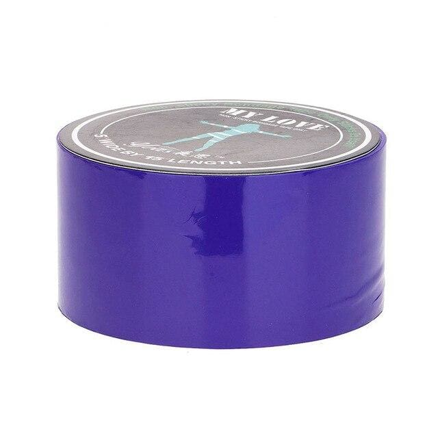 Bondage Restraint Tape BDSM Special Electrostatic Non Sticky PVC Tape 15M - Purple