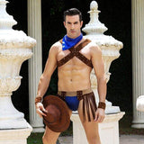 Cowboy - Sexy Underwear Set Erotic Costume For Man