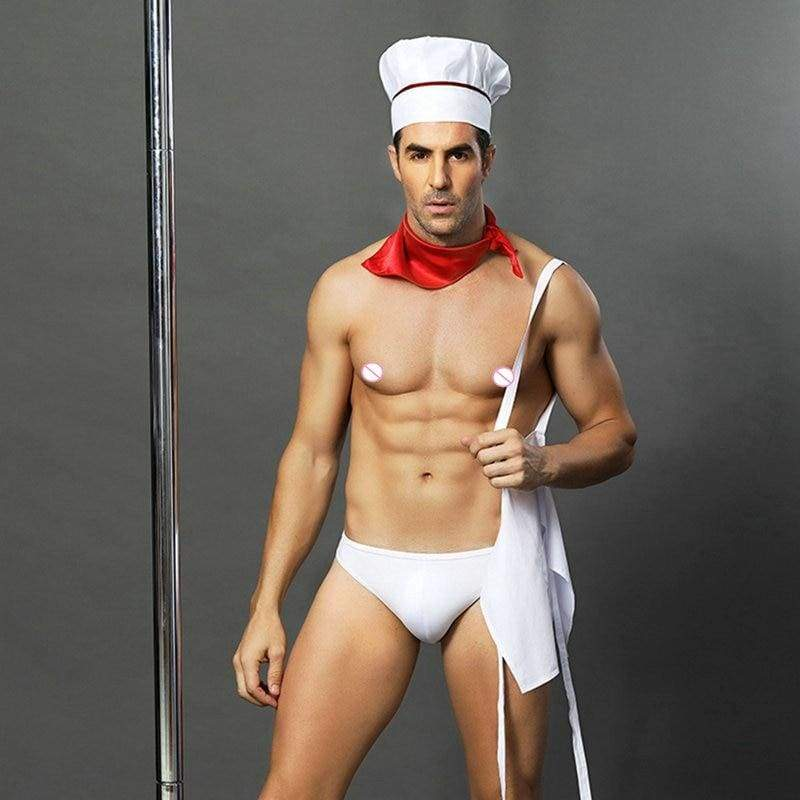 Head Chef - Sexy Underwear Set Erotic Costume For Man