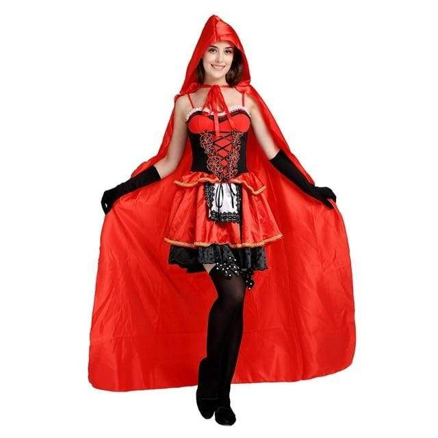 Little Red Riding Hood - Halloween Costume Suit Le Petit Chaperon Rouge